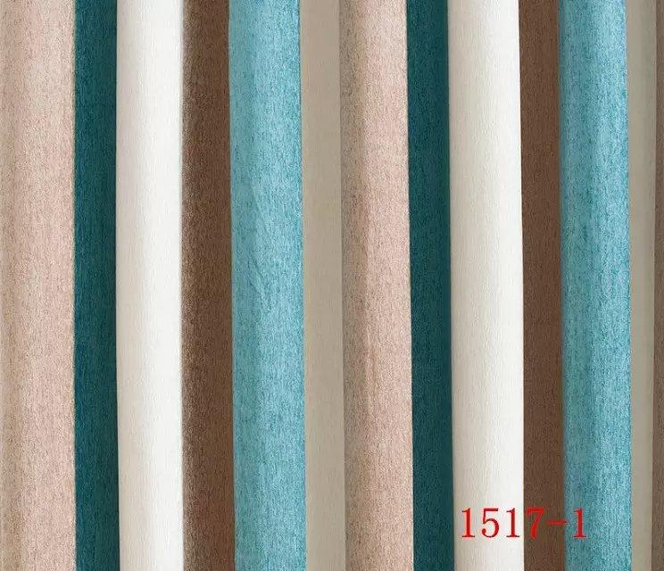 Azul new simples luxuoso Vara Vara Pendurar estilo Sala de estar formar uma linha de cortinas de Restaurante linellae lista linha Coluna cortina - 2