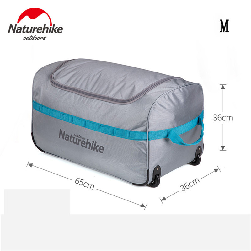 NH Pulley Collapsible Storage Bag Waterproof Outdoor Travel Li Box Swimming Camping Equipment Large Portable Swimming