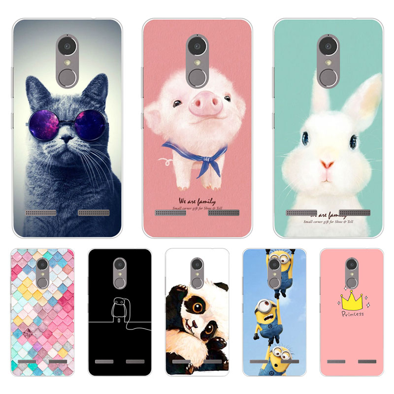 Lenovo k6 power Case,Silicon Painted animals Painting Soft TPU Back Cover for Lenovo k6 protect Phone cases shell