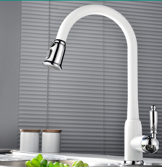 new arrival top quality brass white and chrome hot and cold single lever kitchen sink faucet tap kitchen mixer new arrival top high quality chrome brass single lever single cold kitchen sink faucet direct drinking tap