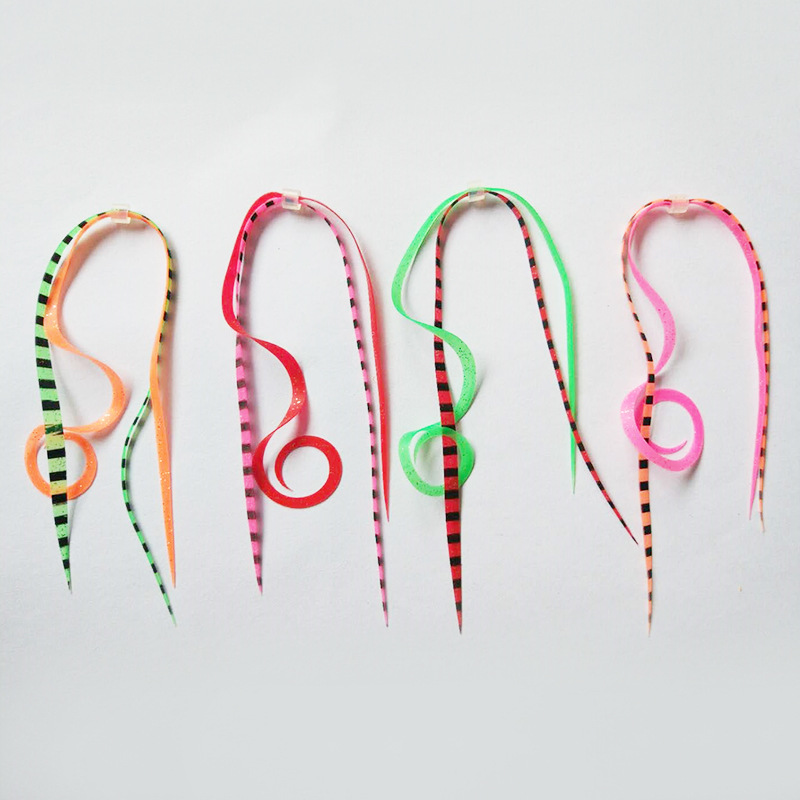 50 boundles Mixed Colors Silicone Skirts Lures trailers integrated Spinnerbait Buzzbait Rubber Jig Lures Fly Tying Materials