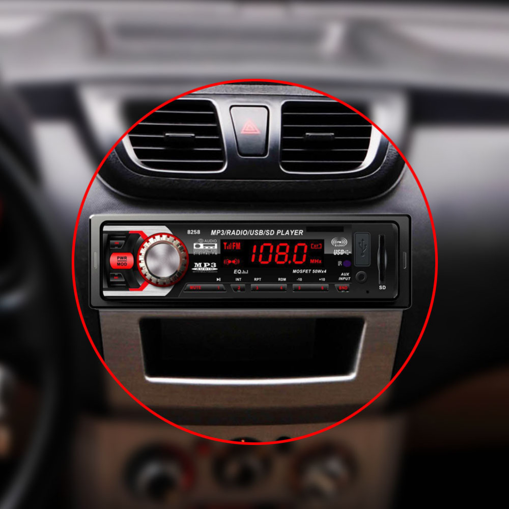 Großhandel Universal Auto Radio Player Auto Stereo Audio In Dash 12v ...