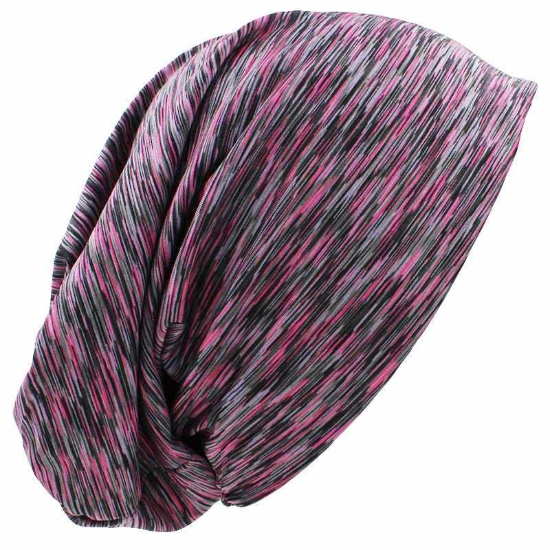 Musim Gugur Musim Dingin Wanita Stripe Desain LOVINGSHA Feminino Topi Pria Topi Topi Skullies Beanies Untuk Wanita Tipis Gadis Fashion HT081