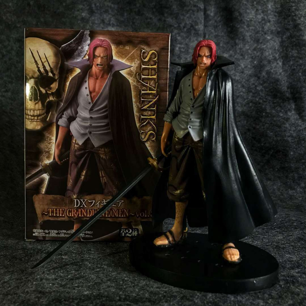 17.5cm One Piece Shanks Action Figure PVC New Collection Figures Toys Brinquedos Collection For Friend Gift