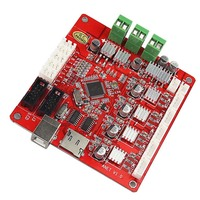 Hot ANET V1 0 3D Printer Motherboard 12V LCD Control Board With USB Connector For A2