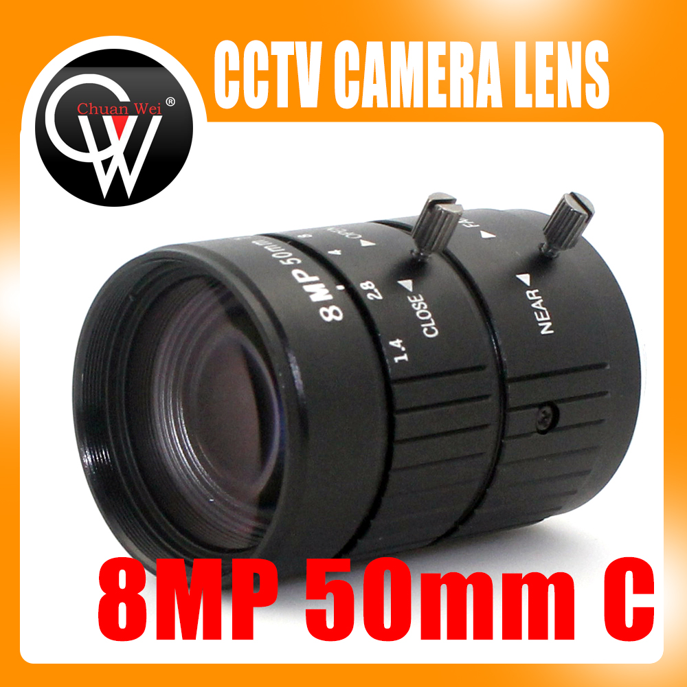 8MP 4K 1:1.4 50mm F1.2 Manual ITS Road Traffic Surveillance CCTV Lens C Mount for 5MP 6MP 8 Megapixel HD Box Body Camera-in CCTV Parts from Security & Protection    1