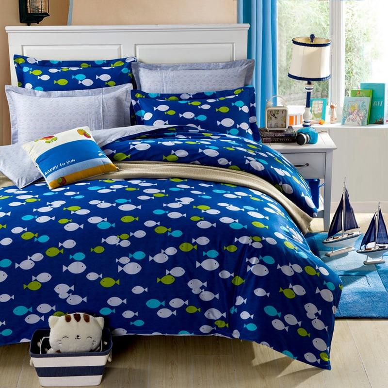 poissons housse de couette promotion achetez des poissons housse de couette promotionnels sur. Black Bedroom Furniture Sets. Home Design Ideas