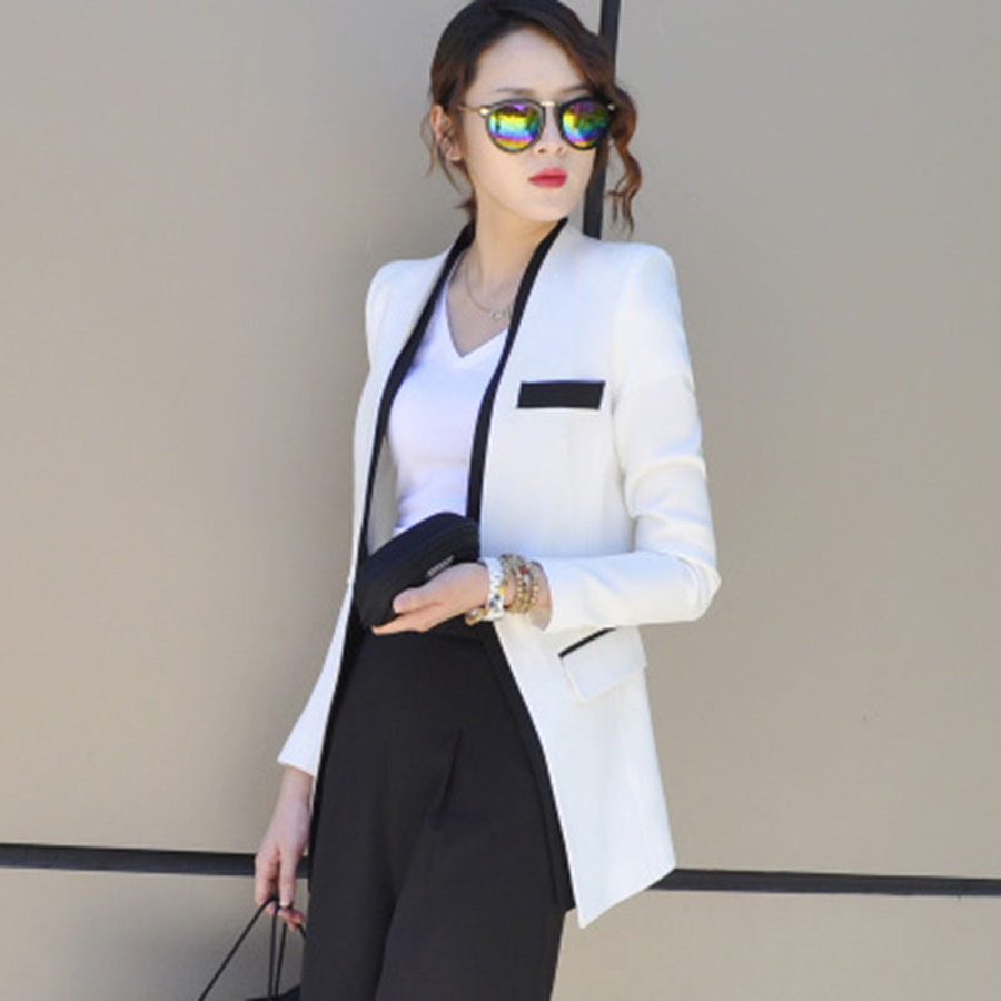 Plus Size Casual Autumn Women Blazer 2017 Buttons Blazers And Jackets Jaqueta Feminina Office Suits Casaco Ladies Tops 70N0450
