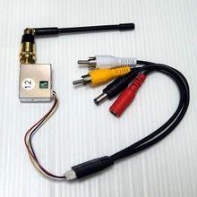 1.2 Ghz 4CH משדר אלחוטי מיני מודול אודיו וידאו עבור מצלמה FPV RC