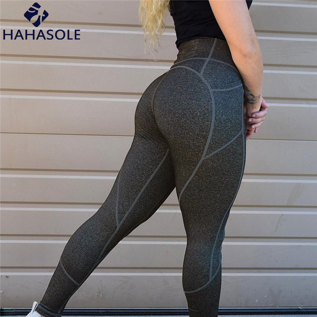 f5fab74e8bd68 Yoga Leggings Pants Women's Clothing Of Large Sizes High Waist Tights Woman  Sports Fitness Sports Wear For Women Gym HWA2420-49