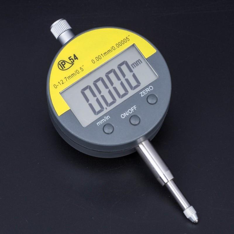 """IP54 Micrómetro digital a prueba de aceite 0.001mm Micrómetro electrónico Métrico / Pulgada 0-12.7mm / 0.5 """"Indicador de precisión Indicador medidor de indicador"""