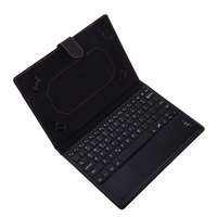 Universal Wireless Bluetooth Keyboard With Removable Leather Protective Case For Android Windows 9 10 1 Tablet