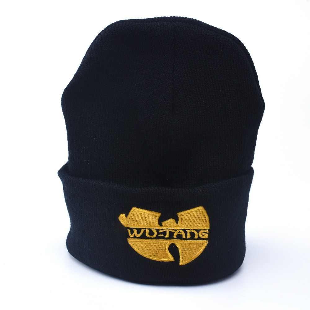 113e7ed6d5b Winter Beanie Hat Man And Woman Wu Tang Clan Warm Casual Beanie Hat Women  Hip Hop