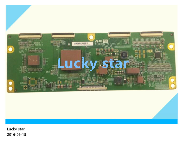 good working High-quality for original 98% new for T460HW02 V2 CTRL BD 07A46-1B UT-5546T02016 T-con logic board