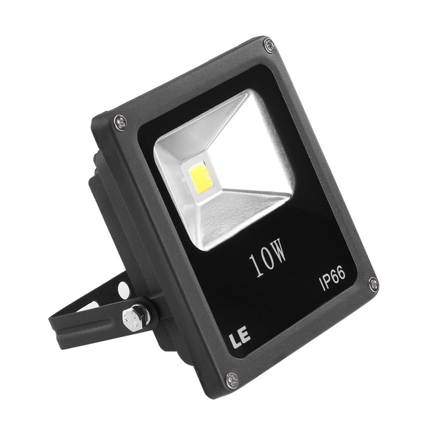 Le 10w Super Bright Outdoor Led Flood Lights 100w Halogen Bulb Equivalent Daylight White Security Floodlight