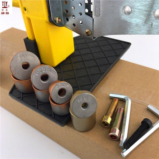 1 ensemble doutils pour Machine de soudage de tuyaux en plastique 20-32mm 220V 600W PPR PE PP tuyau de chauffage soudeuse de tubes
