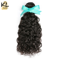 KL Hair Brazilian Natural Wave Hair Bundles 100 Human Hair Weaving Natural Color 8 28 Remy