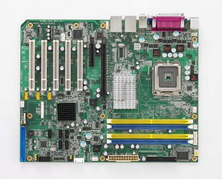 industrial motherboard AIMB-764 REV.A1 AIMB-764G2 LGA775 board 100% tested perfect quality g31 775 ddr2 integrated board 945g 100% tested perfect quality