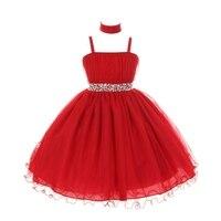 New Baby Girl Princess Tutu Dress Child Sweet Bowknot Sling Dresses Summer Clothing