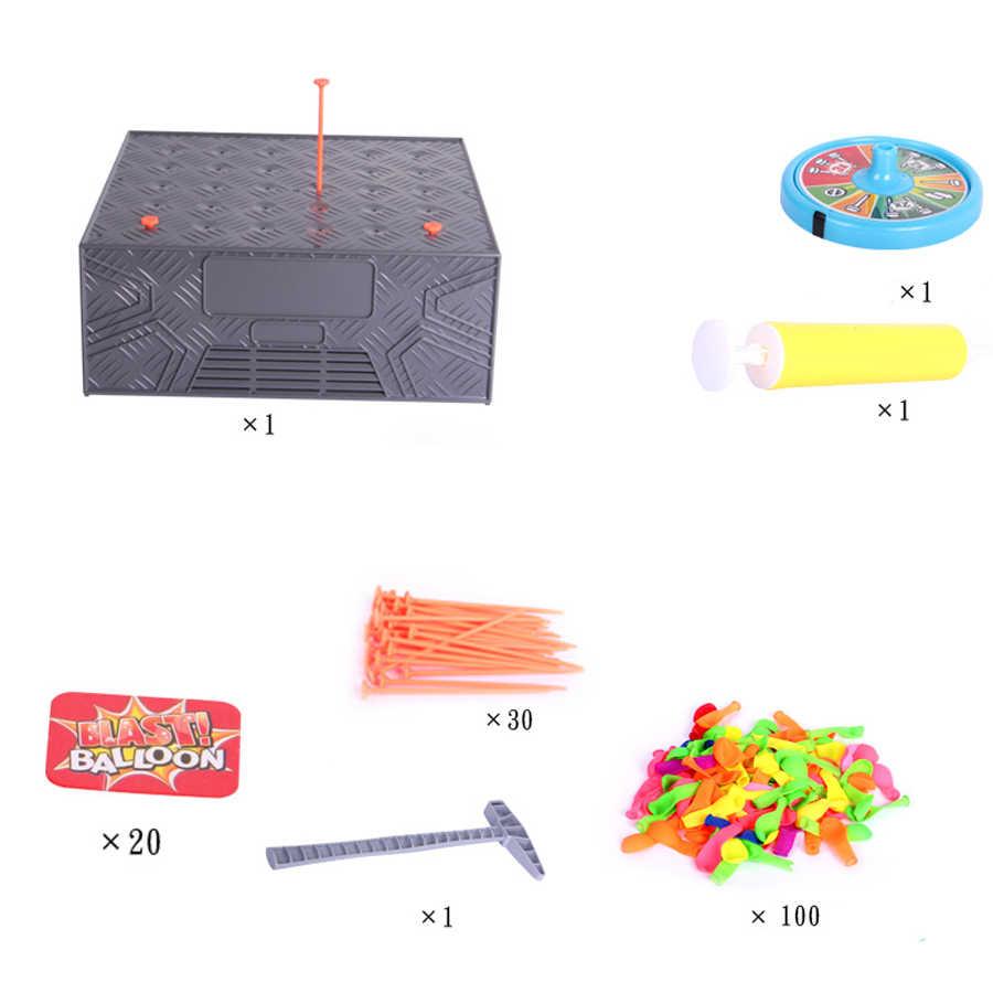 Explosion Ballon Lustige Spiele Für Party Tricky Kreative Spielzeug Glück Roulette Familie Interaktive Spiele Lustige Spielzeug Neuheit Gag Geschenke Neue