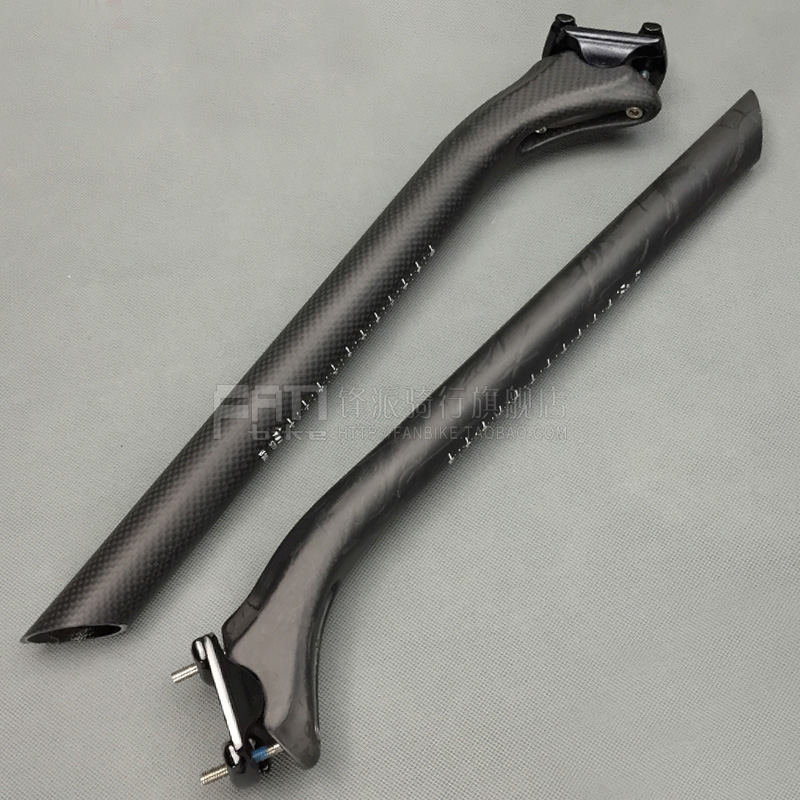 Cycling 3K UD Matte Road Bike Full Carbon Seatpost Mountain Bicycle Seat Posts MTB Parts 27.2/30.8/31.6mm 25mm Offset bikein full ud carbon fibre ultralight road bike seatpost 27 2 30 8 31 6mm mountain bicycle seat tube 5 20 degree mtb parts 200g