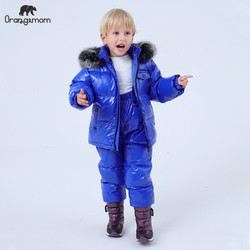 2019 Orangemom official store winter Children's Clothing sets down boys clothing , kids outerwear & coats for Girls jackets snow
