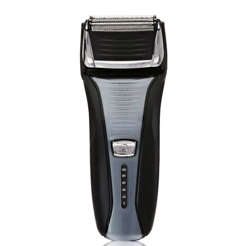 Rechargeable Electric Shaver for men Shaving razor Beard trimmer Triple blade Washable face care tools POVOS  EU/US Plug new povos pq8508 electric shavers for men with trimmer 3d rechargeable washable shaving beard razor face care tools 100 240v