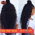 Onda profunda brazillian produtos de cabelo queen hair 4 bundles mink brasileira Encaracolado Tecer Cabelo Humano 7A Bohemian Profunda Trama Encaracolado cabelo