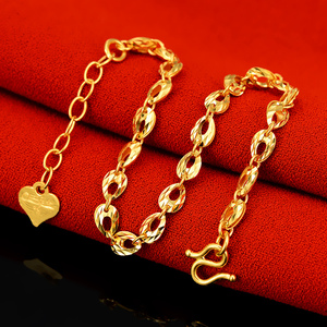 Image 3 - YSF 24K Pure Gold Bracelet Real 999 Solid Gold Bangle Upscale Beautiful  Romantic Trendy Classic Jewelry Hot Sell New 2020