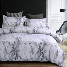 marble duvet cover sets modern bedding sets cotton - Modern Bedding Sets