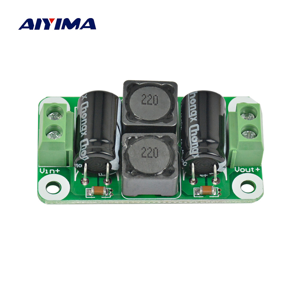 Aiyima DC Power Filter Board Digital Amplifier Interference Suppression Board Automotive Power EMI Suppression 4-6A For TPA3116 l9930 automotive computer board page 4