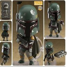 Star Wars Nendoroid 706 Q Version 10CM Model Action Figures Pvc(China)