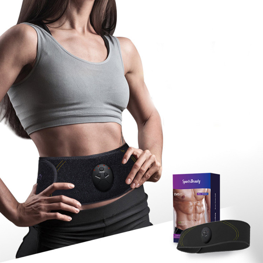 EMS intelligent paresseux abdominaux muscles équipement de remise en forme sport à domicile fitness entraînement exercices ceintures intelligent abdominalBelt