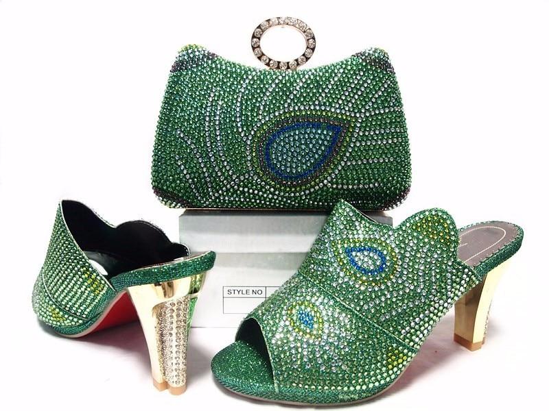 High Quality African Design Shoe And Bag Set To Match Purple Color Sandal Italian Shoes With Matching Bag Set For Wedding JA10-6 банка для сыпучих продуктов чай lcs старая тоскана lcs670plt ot al