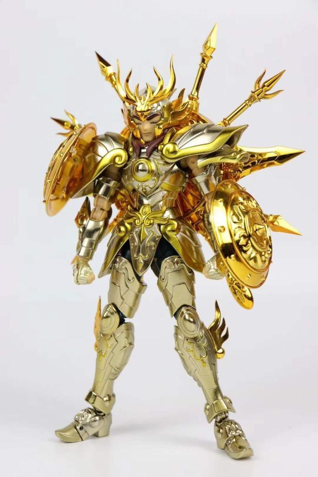 ReStock Saint Seiya S-Temple GT model Libra EX 2.0 God Gold soul Saint God Libra go Dohko Metal Cloth цены
