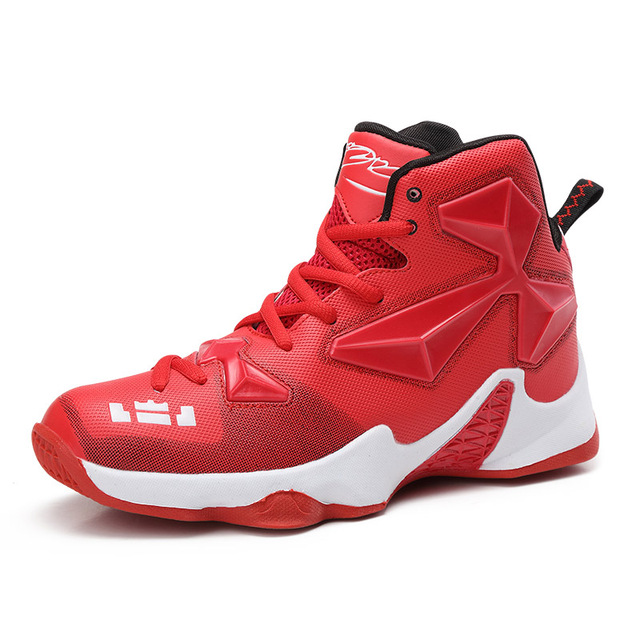 High-top Men Boys Basketball Shoes Woman Breathable Cushioning Training Basketball Sneakers Professional basket homme baloncesto