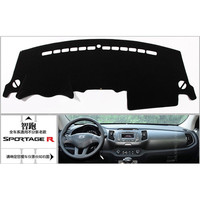 Free Shipping Kia Sportager High Quality Console Avoid Light Pad Dashboard Protection Pad