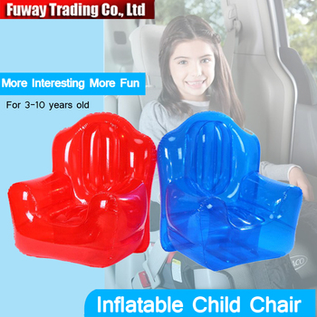 Free Shipping!!Car Inflatable Child Chair  Baby Car Seat For 3-15 Years Old Child, For Travel Outdoor Game Picnic.