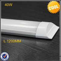 LED tri proof Light Batten Tube 2FT 20W 4FT 40W Explosion Proof Two LED Tube Lights Replace Fluorescent Light Fixture Ceiling