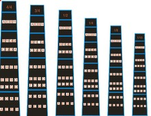 Violin Fretboard Sticker Fiddle Fingerboard Chart Tape Fret Marker Fretless   Finger Guides For 1/10,1/8,1/4,1/2,3/4,4/4