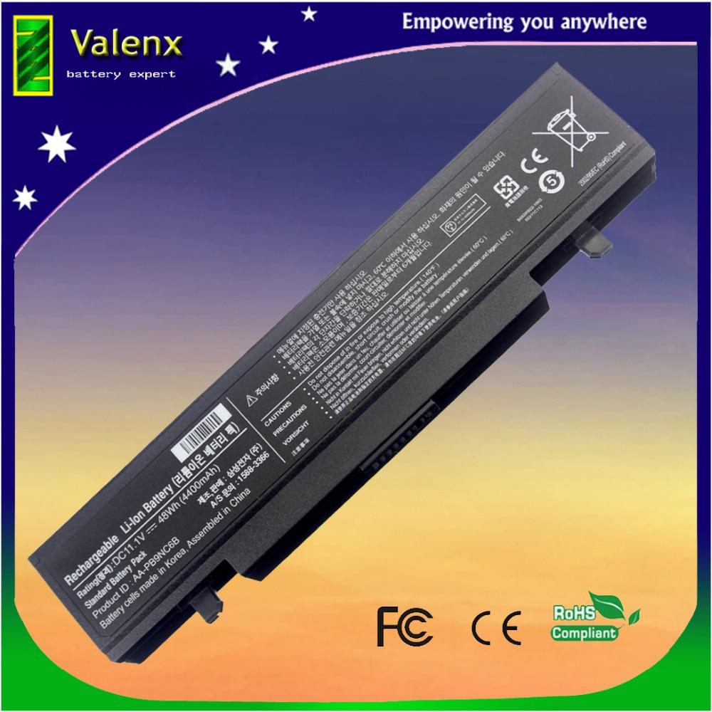Batterie d'ordinateur portable pour samsung RV510 NP-RV510 RV511 NT-RV511 NP-RV511 RV711 RV709 RV515 RV509 R428 Q320 R468 AA-AA-PB9NS6B PB9NC6B