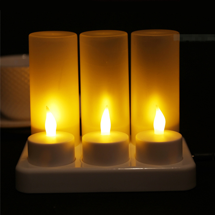 Candles Home & Garden Led Candle Electrical Paraffin Wax Flameless Uneven Edge For Wedding Party Home Halloween Decoration And Lovely Night Light