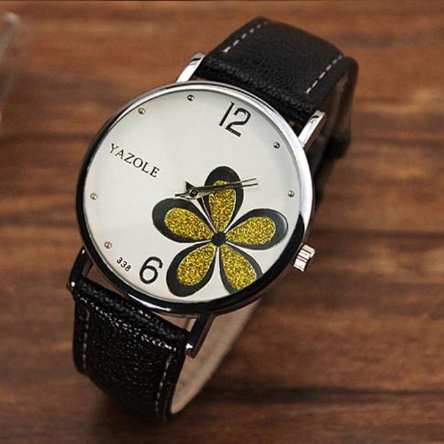 YAZOLE watch women luxury relogio feminino Flower Bracelet Watches Ladies Tungsten Steel Montre femme marque de luxe 2018 #35