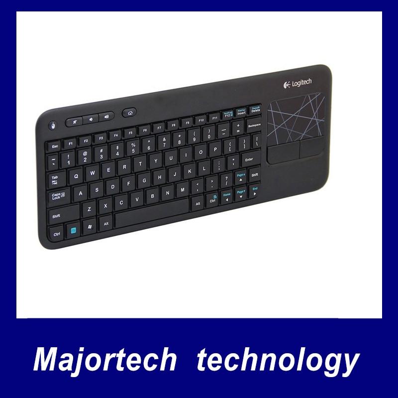 Original Logitech 2.4G K400R Wireless 2.4G Logitech Touch Keyboard for PC Laptop ... dc542e