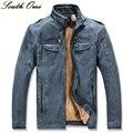 Man Lether Jackets Brand Leather & Pu Jacket Men's Winter Leather Jacket Men Couro Winter Men  XXXL