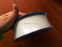 TOP Quality Teflon Expanded Tape 10mmX3mm 10meters Length PTFE Teflon Adhesive Tape For Flange Seal Mechanical