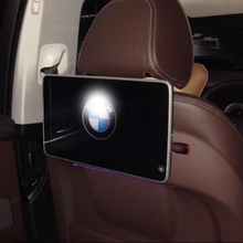 In Car LCD TV Screen Bluetooth Headrest DVD Playet Android Monitors For BMW GT Accessories Back Rear Seat Entertainment Systems