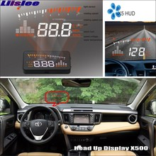 Liislee Car HUD Head Up Display For Toyota RAV4 - Refkecting Windshield Screen Safe Driving Screen Projector High Quality
