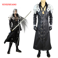 VEVEFHUANG Final Fantasy VII 7 Sephiroth Deluxe Edition Cosplay Uniform Suit Full Set Men's Halloween Costumes Custom made