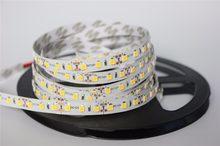 Bande de lumière flexible 12 V 120 LED/m 5 m/lot 2835 LED, blanc chaud, vert, jaune, rouge, bleu, 2835 non-led étanche led